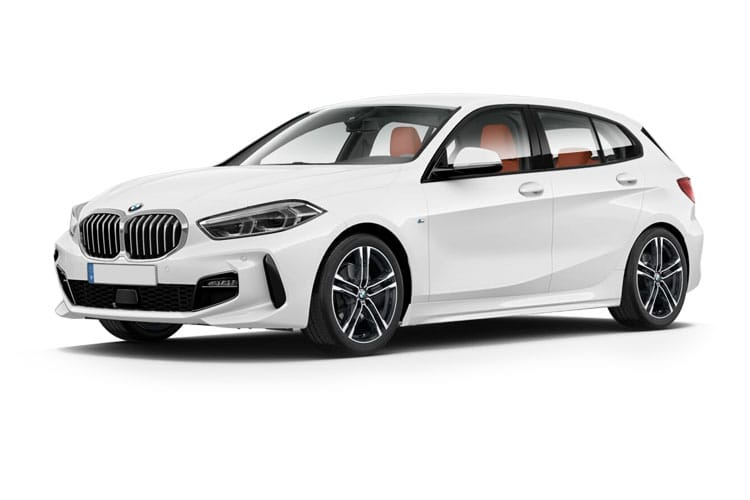 Front view of BMW 118d Sporthatch 2.0 M Sport Steptronic Auto