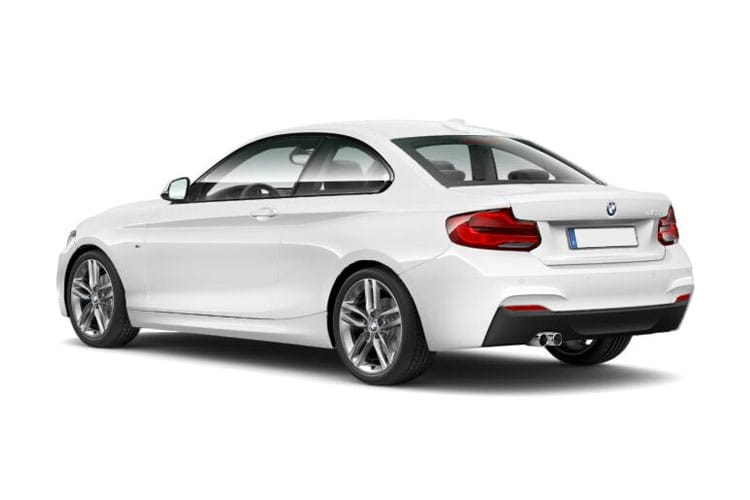 Back view of BMW 220i 2 Door Coupe 2.0 Sport Auto