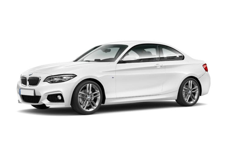 Front view of BMW M240i 2 Door Coupe 3.0 Auto