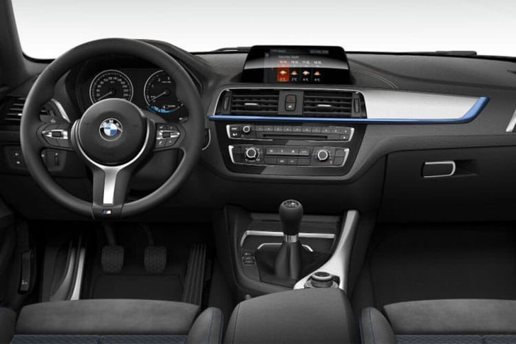 Inside view of BMW 220i 2 Door Coupe 2.0 Sport Auto