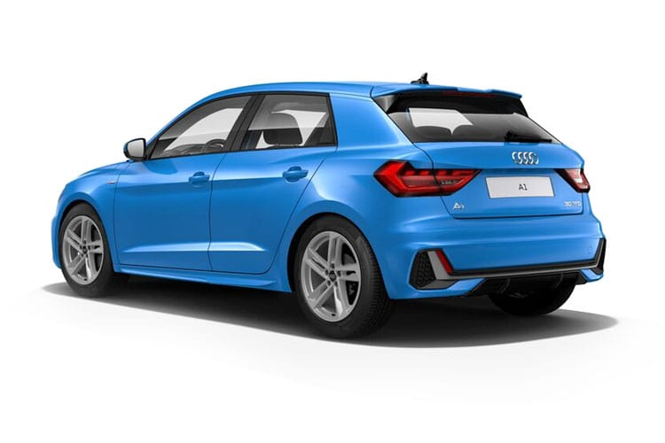 Back view of Audi A1 5 Door Sportback 25 TFSI 95 S Line S tronic (MY2021.01)