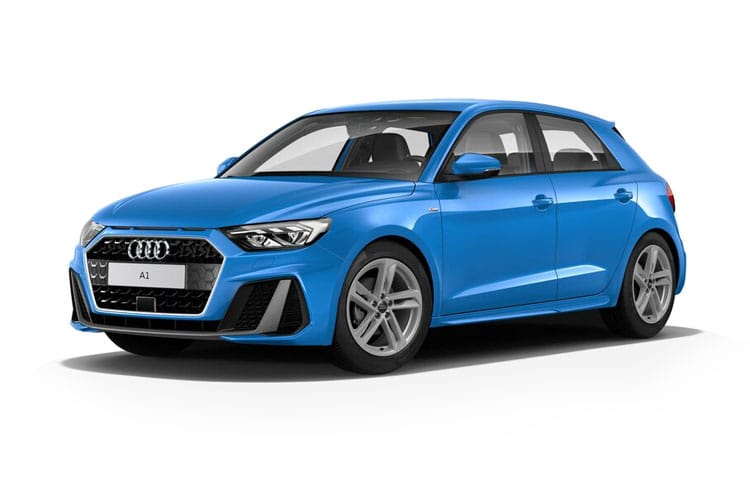 Front view of Audi A1 5 Door Sportback 25 TFSI 95 Technik (MY2021.01)
