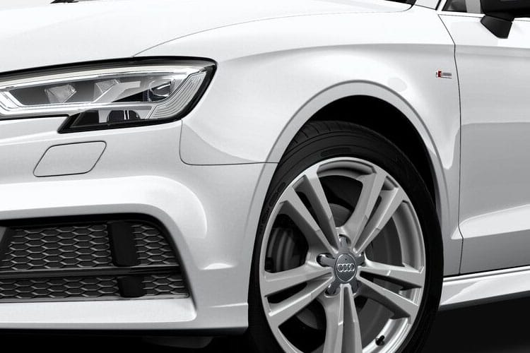 Detail view of Audi A3 4 Door Saloon 30 TDI 116ps Sport (MY2021)