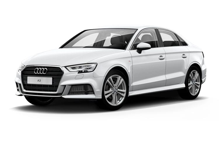 Front view of Audi A3 4 Door Saloon 30 TDI 116ps Sport (MY2021)