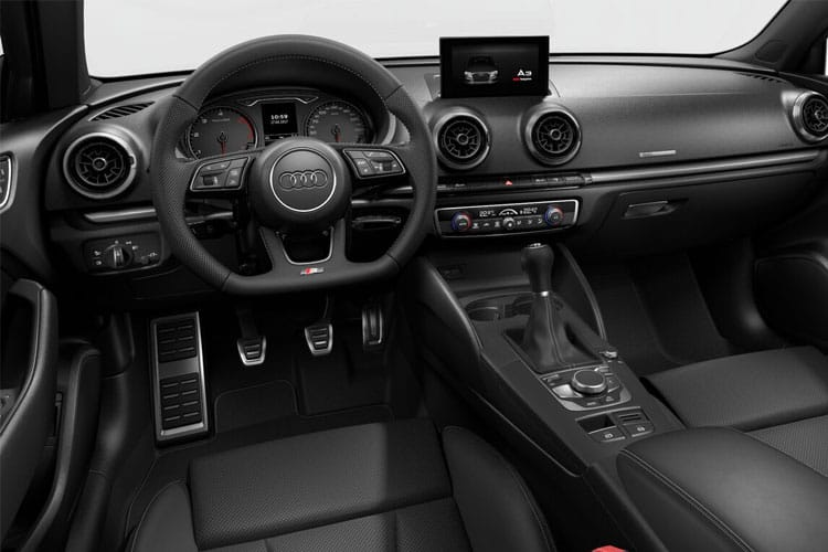 Inside view of Audi A3 4 Door Saloon 30 TDI 116ps Sport (MY2021)