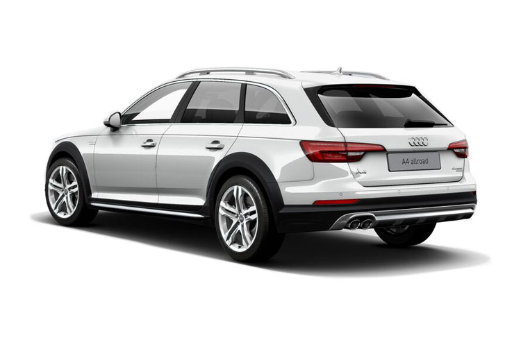 Back view of Audi A4 Allroad 50 TDI Quattro 286 Vorsprung Tiptronic (MY2021.01)
