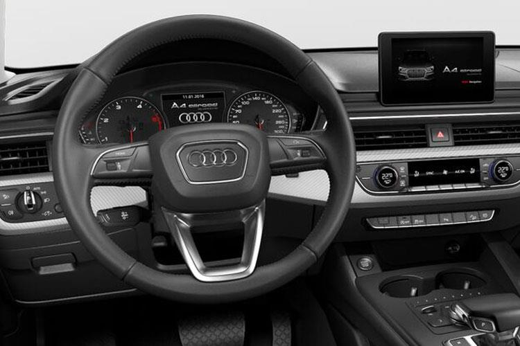 Inside view of Audi A4 Allroad 50 TDI Quattro 286 Vorsprung Tiptronic (MY2021.01)