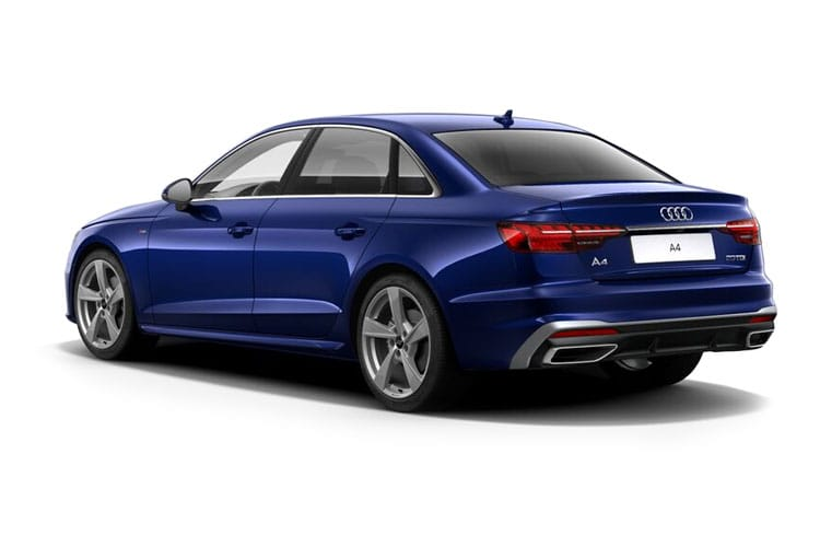 Back view of Audi A4 Saloon 30 TDI 136 Vorsprung S tronic (MY2021)