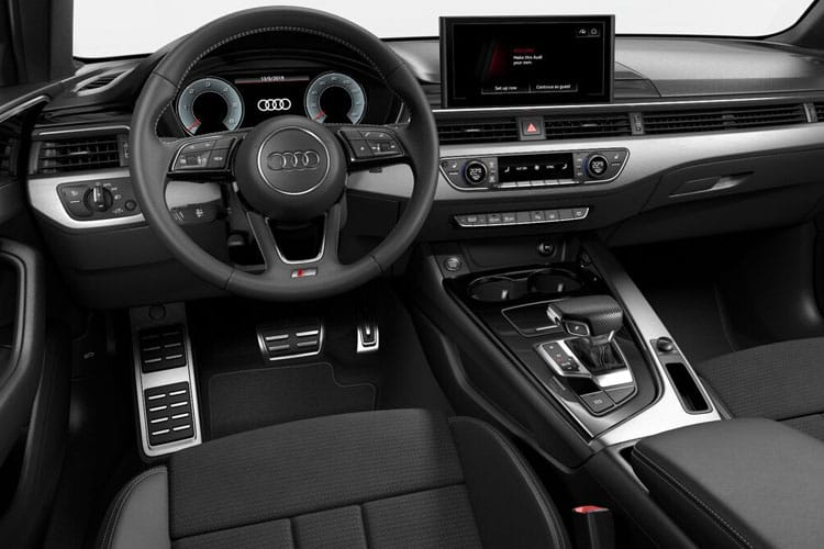Inside view of Audi A4 Saloon 30 TDI 136 Vorsprung S tronic (MY2021)