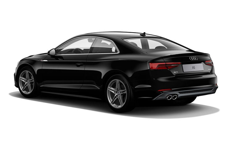 Back view of Audi A5 Coupe 35 TDI 163ps Sport Comfort+Sound Pack S tronic (MY2021)