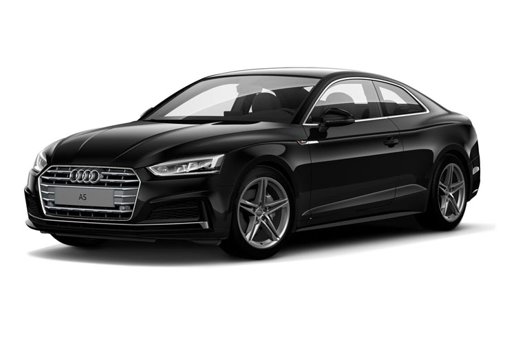 Front view of Audi A5 Coupe 35 TDI 163ps Sport Comfort+Sound Pack S tronic (MY2021)