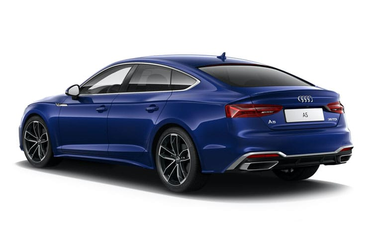 Back view of Audi A5 Sportback 35 TDI 163ps Sport Cms S tronic (MY2021)