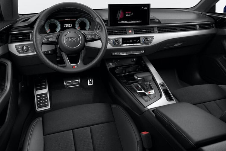 Inside view of Audi A5 Sportback 35 TDI 163ps Sport Cms S tronic (MY2021)