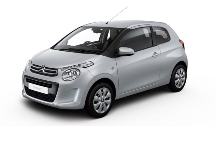 Front view of Citroen C1 3 Door 1.0 VTi 72 Feel (MY2020.02)
