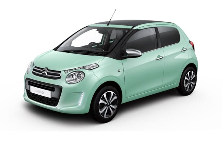 Front view of Citroen C1 Airscape 5 Door 1.0 VTi 72 Flair