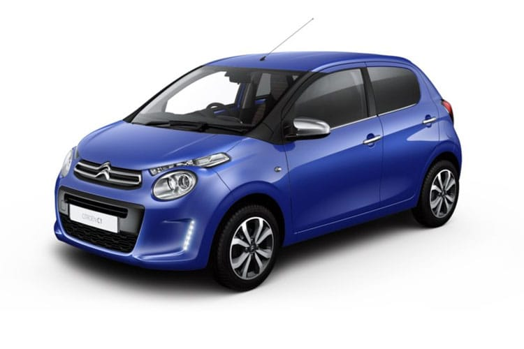 Front view of Citroen C1 5 Door 1.0 VTi 72 Feel