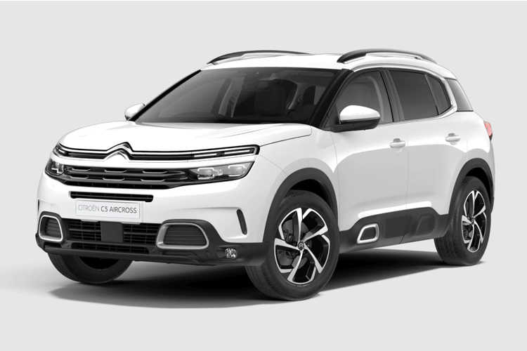 Front view of Citroen C5 Aircross 1.5 BlueHDi 130 Flair Start+Stop (MY2020.01)