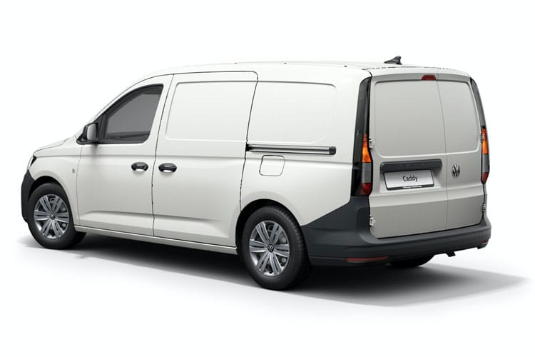 Back view of Volkswagen Caddy Maxi 2.0 TDI 102 Commerce