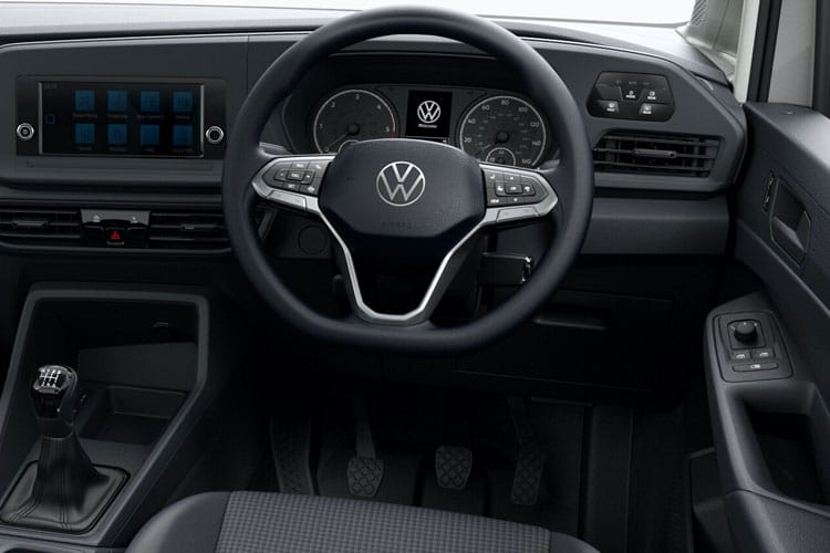 Inside view of Volkswagen Caddy Maxi 2.0 TDI 102 Commerce