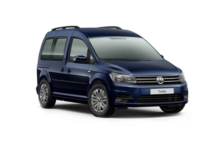 Front view of Volkswagen Caddy Life 2.0 TDI 102