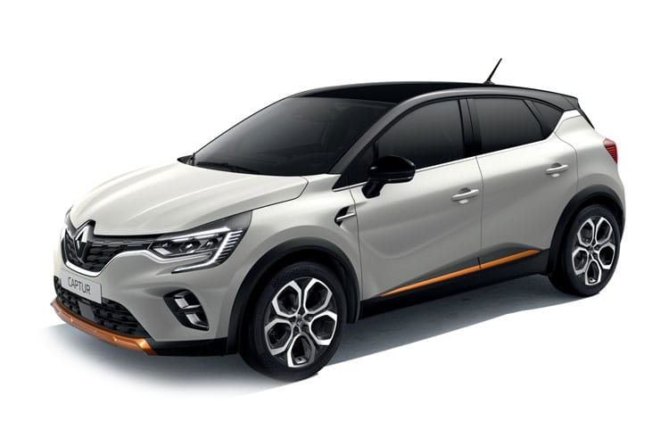 Front view of Renault Captur 1.0 TCE 90 Play