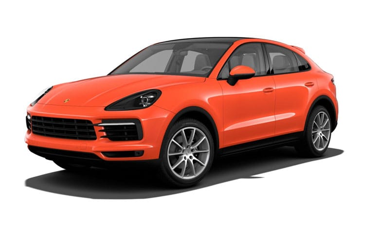 Front view of Porsche Cayenne Coupe Turbo S 4.0 V8 E-Hyd Tiptronic S