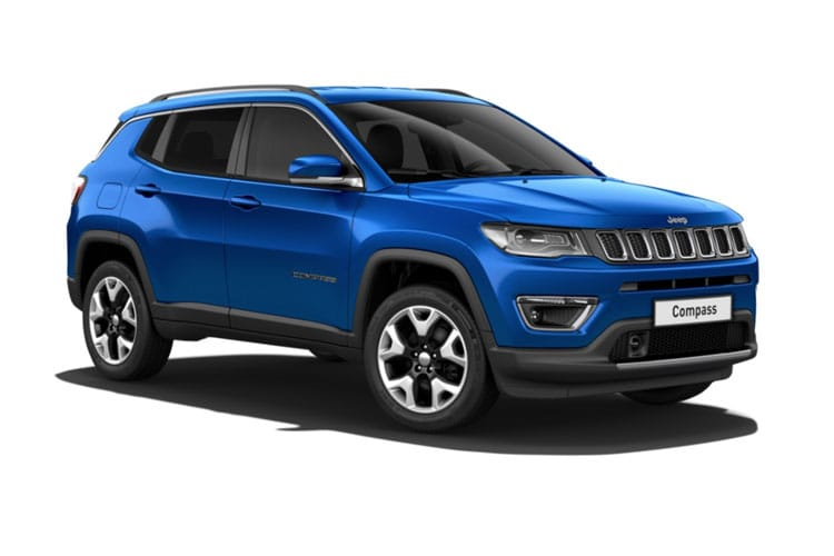 Front view of Jeep Compass 1.4 Multiair II 170 Limited Auto 4X4