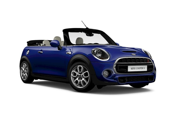 Front view of MINI Convertible 1.5 Cooper Classic (MY2021.01)