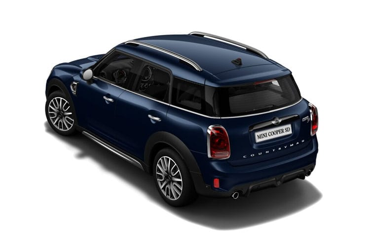 Back view of MINI Countryman 2.0 Cooper S Sport Comfort Nav Plus Pack