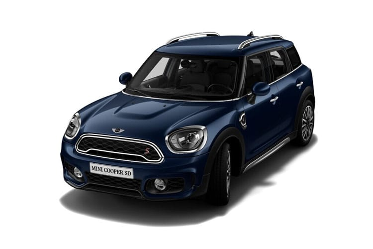 Front view of MINI Countryman 2.0 Cooper S Sport Comfort Nav Plus Pack