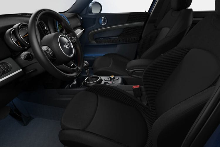Inside view of MINI Countryman 2.0 Cooper S Sport Comfort Nav Plus Pack