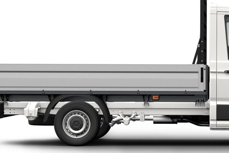 Detail view of Volkswagen CR35 LWB Chassis Cab Dropside 2.0 TDI 140 Startline Business Etg
