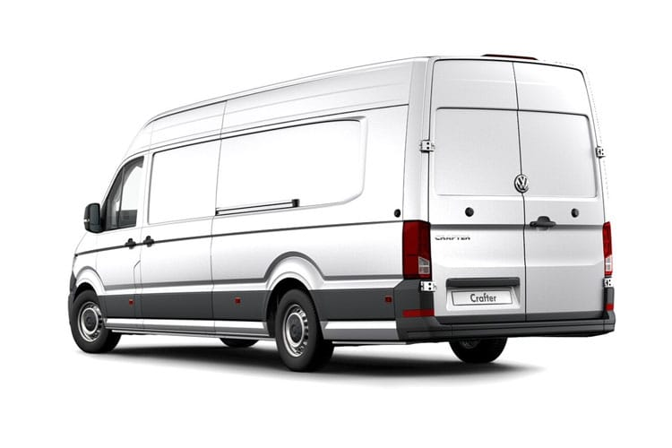 Back view of Volkswagen CR35 L5H3 Maxi LWB 2.0 TDI 140 Trendline Business