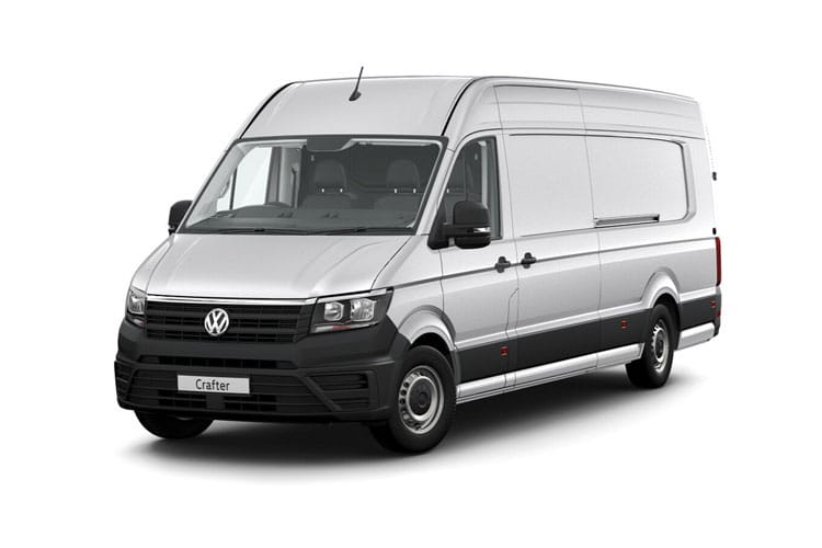 Front view of Volkswagen CR35 L5H3 Maxi LWB 2.0 TDI 140 Trendline Business