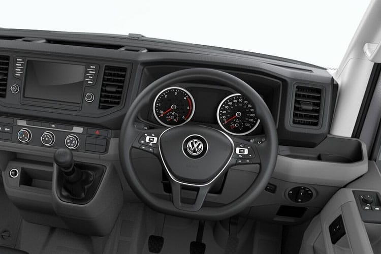 Inside view of Volkswagen CR35 L5H3 Maxi LWB 2.0 TDI 140 Trendline Business