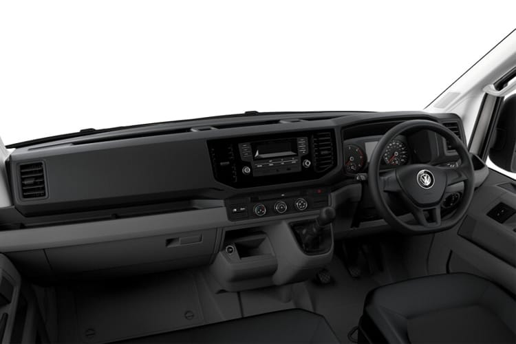 Inside view of Volkswagen CR35 L4H3 LWB 2.0 TDI 140 Startline Business