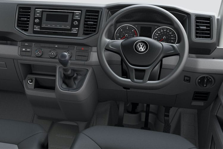 Inside view of Volkswagen CR35 L4H3 LWB 2.0 TDI 177 Trendline Auto 4Motion