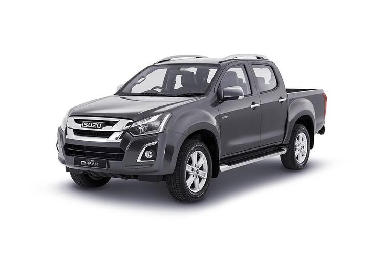 Front view of Isuzu D-Max 1.9 Double Cab AT35 Safir Auto 4x4