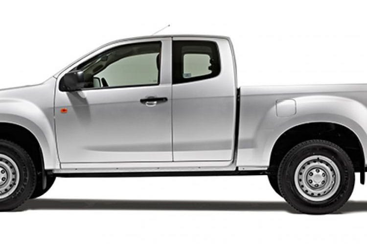 Detail view of Isuzu D-Max 1.9 Extended Cab 4x4