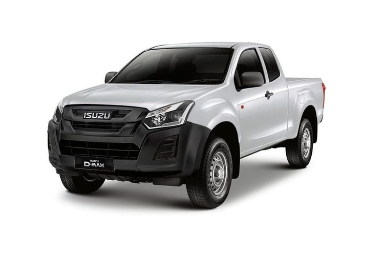 Front view of Isuzu D-Max 1.9 Extended Cab 4x4