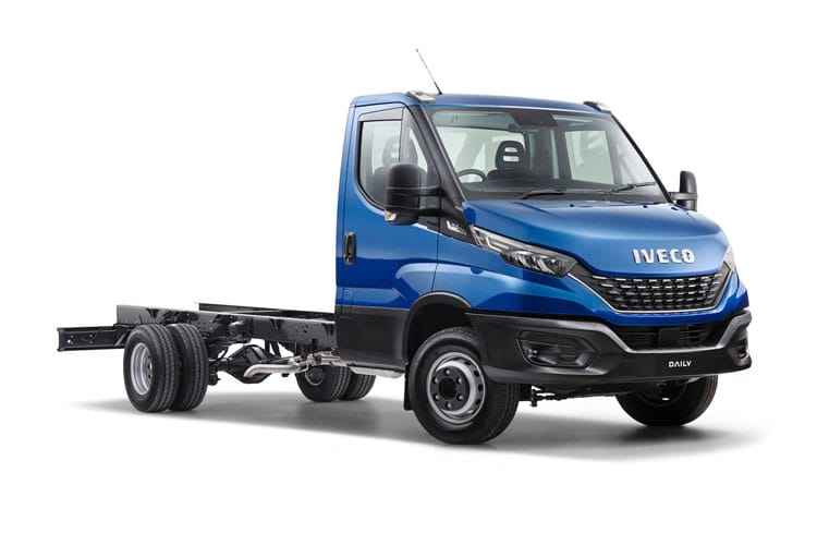 Front view of Iveco Daily 35C16 Heavy Duty Chassis Cab 3.0TD 4100