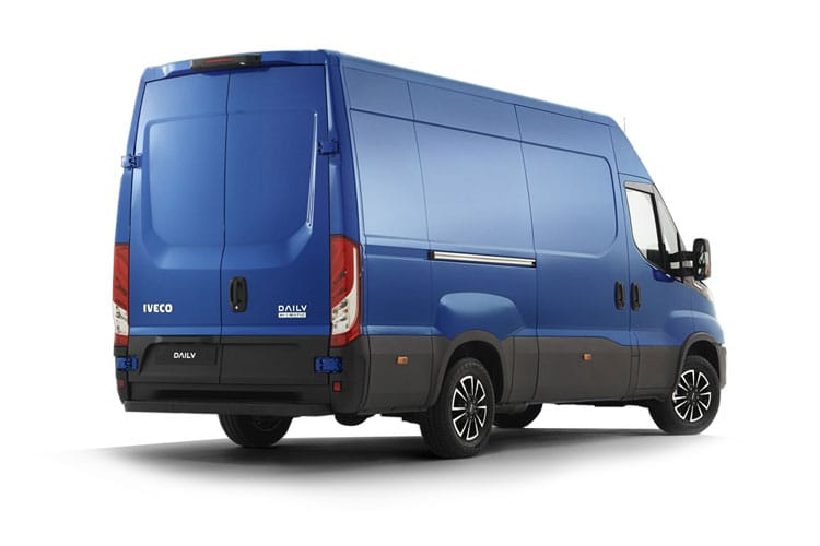 Back view of Iveco Daily 35S16 Heavy Duty Extra High Roof Van 2.3TD 4100