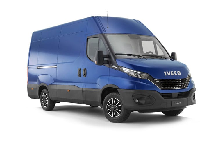 Front view of Iveco Daily 35S16 Heavy Duty Extra High Roof Van 2.3TD 4100