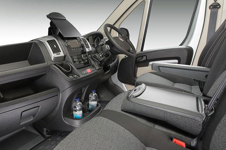 Inside view of Fiat Ducato Steel Dropside MLH1 35 2.3 Multijet