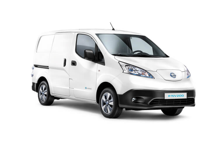 Front view of Nissan e-NV200 Van 109ps Acenta