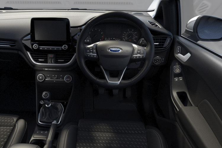 Inside view of Ford Fiesta 3 Door 1.1L Ti-VCT 75ps Trend Nav (MY2021)