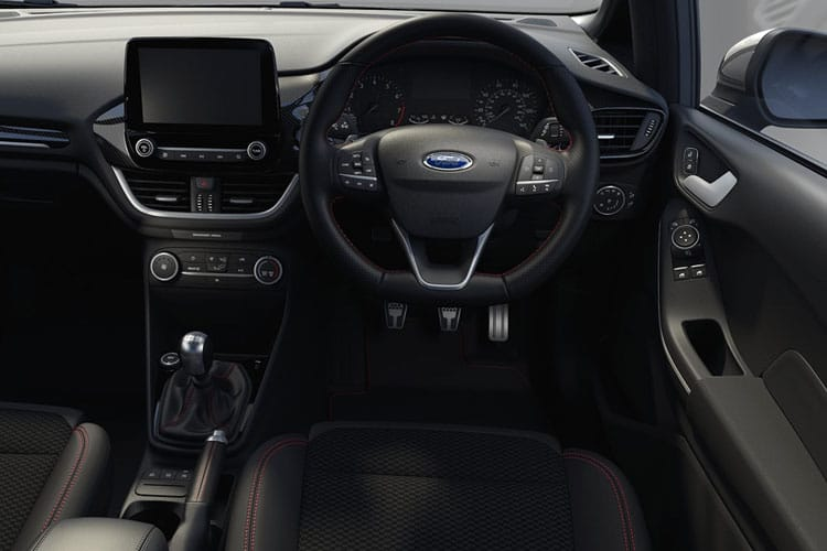 Inside view of Ford Fiesta 5 Door 1.1L Ti-VCT 75 Trend