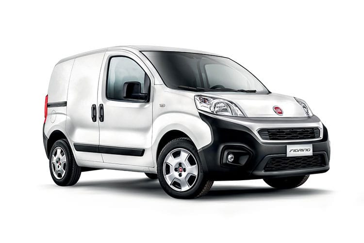 Front view of Fiat Fiorino Cargo 1.3 Multijet 80 SX Start+Stop
