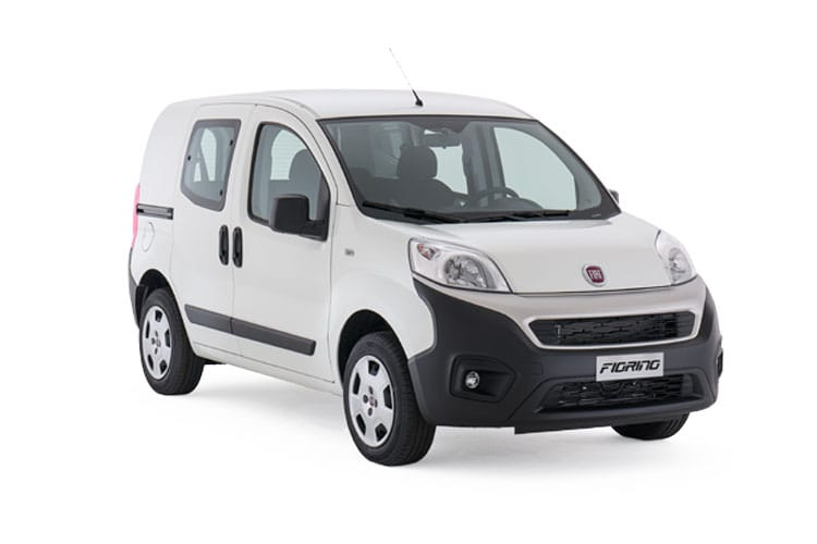 Front view of Fiat Fiorino Crew Van N1 1.3 Multijet 80 Active Start+Stop
