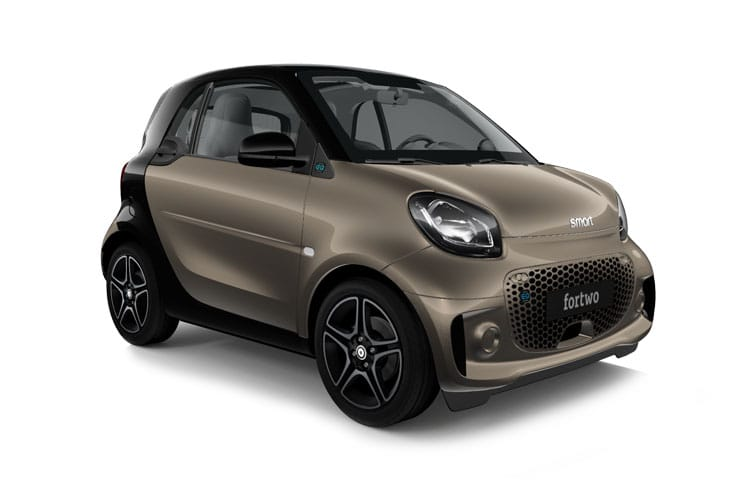Front view of Smart Fortwo 2 Door Coupe EQ 22KW Prime Exclusive Auto (MY2020)